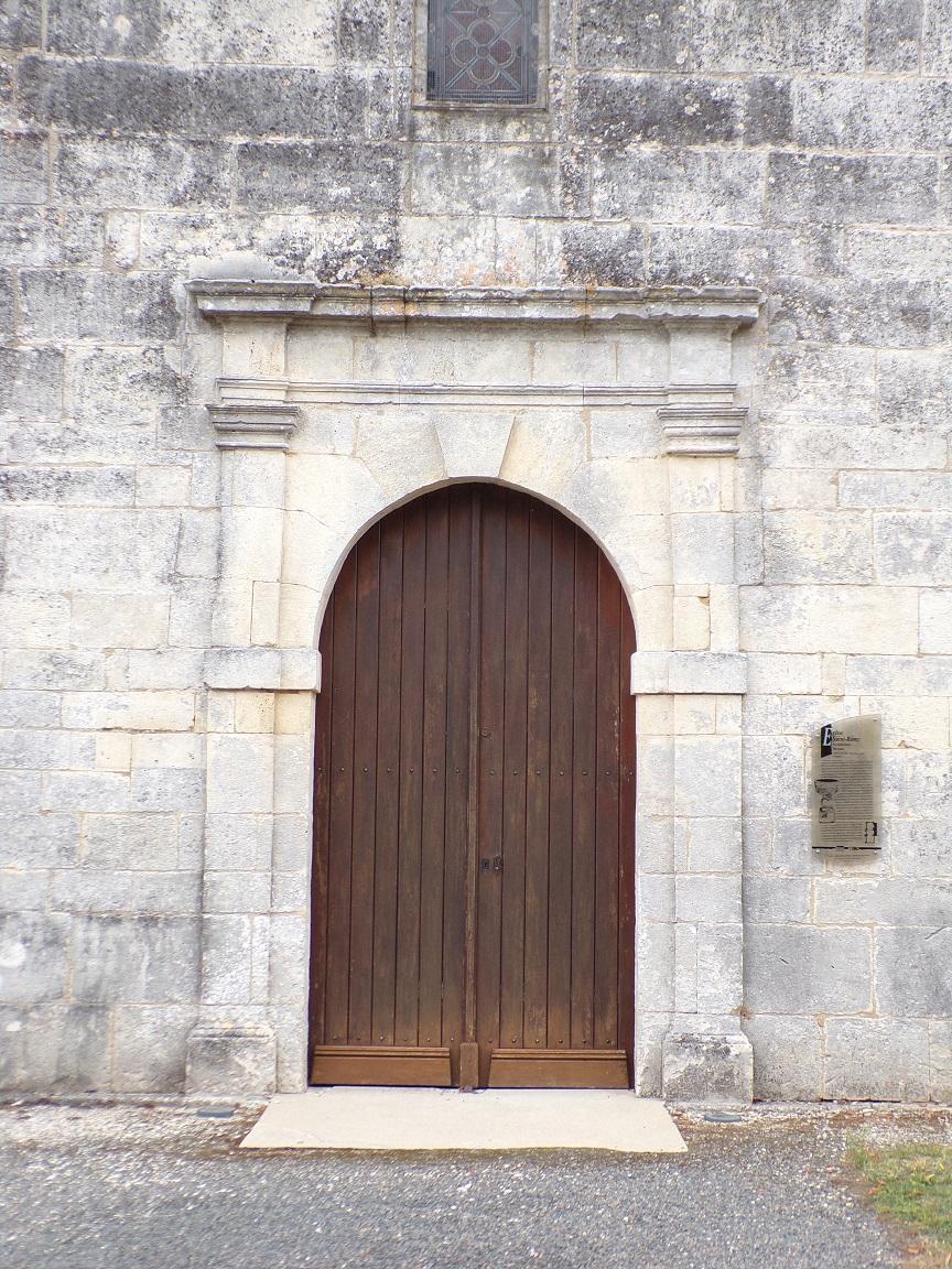Merpins - L'église Saint-Rémy (18 septembre 2016)