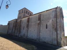 Nercillac - L'église Saint Germain (25 août 2016)