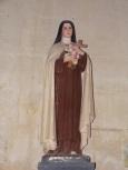 """Pérignac - L'église Saint-Pierre - Sainte Thérèse de Lisieux dite """"Sainte Thérèse de l'Enfant Jésus"""" (25 juin 2018)"""