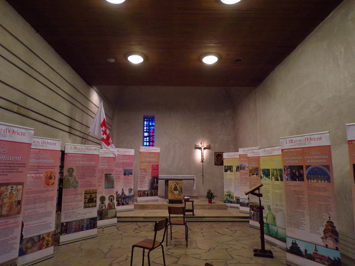 rue Aristide Briand - L'église Saint-Léger - La chapelle Saint-Pierre (13 août 2019)