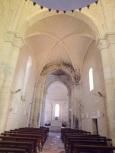 Saint-Même-les-Carrières - L'église Saint-Maxime - Vue de l'entrée (8 septembre 2016)