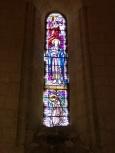 Saint-Même-les-Carrières - L'église Saint-Maxime - Le vitrail 'Ste Cécile' (8 septembre 2016)
