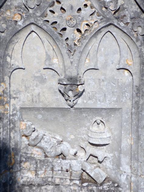 Saint-Simon - Trace des Gabariers au cimetière (21 septembre 2016)