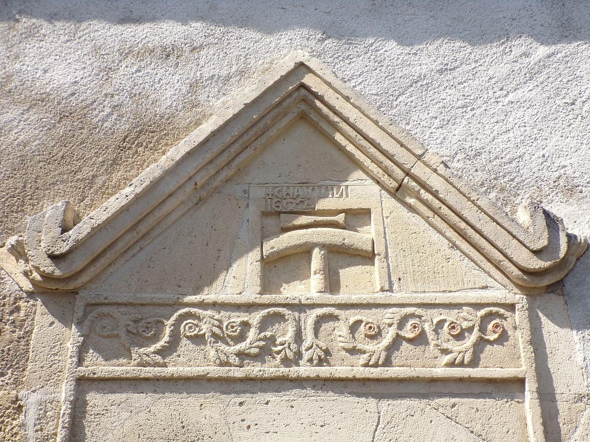 Saint-Simon - La porte et enseigne de calfat (XVIIe siècle) (8 septembre 2016)