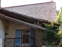 Saint-Simon - Un mât de gabare (21 septembre 2016)