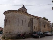 Saint-Trojan - L'église Saint-Trojan (4 septembre 2016)