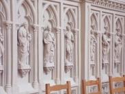 Salles d'Angles - L'église Saint-Maurice - Détail de l'abside (22 août 2016)