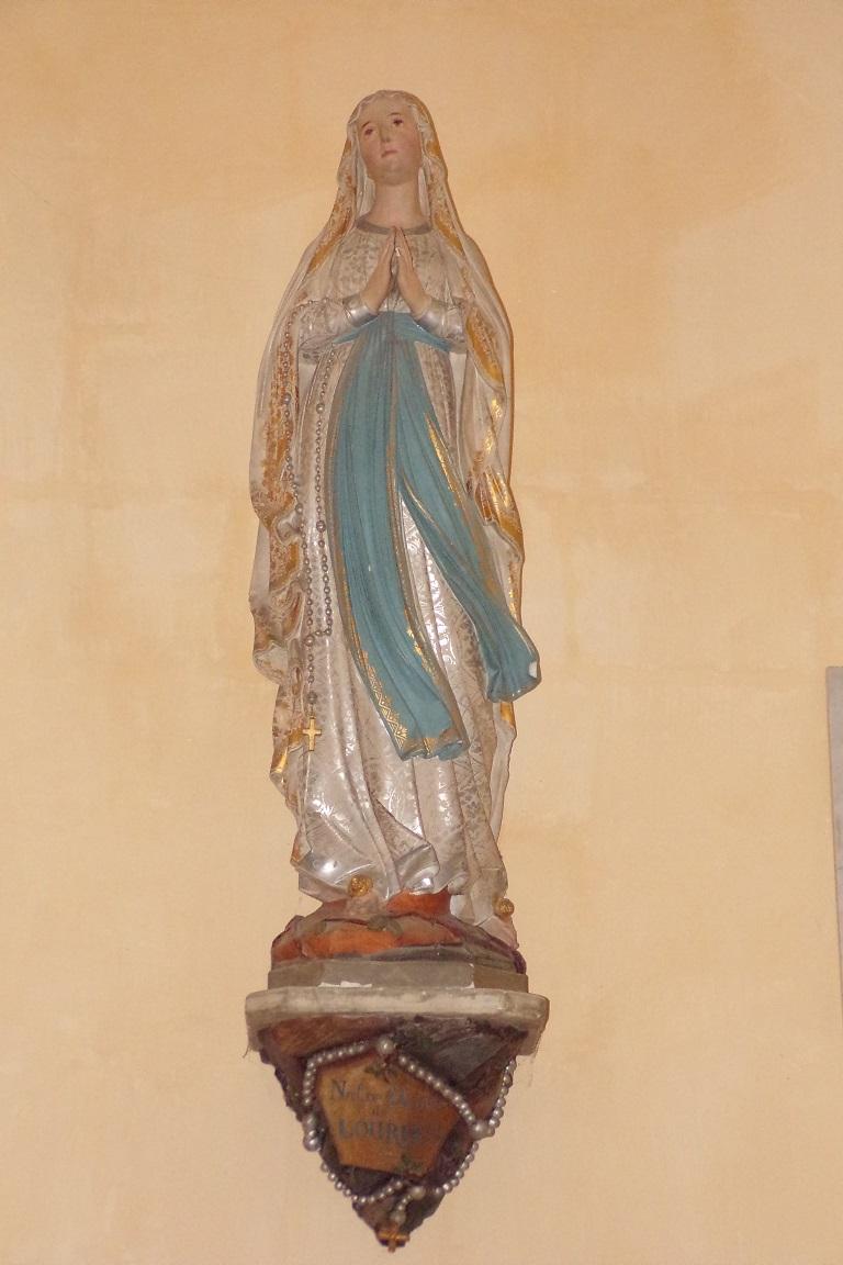 Salles d'Angles - L'église Saint-Maurice - Notre Dame de Lourdes (3 avril 2017)