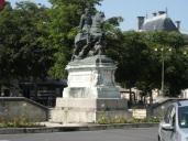 Statue François Ier (28 mars 2015)
