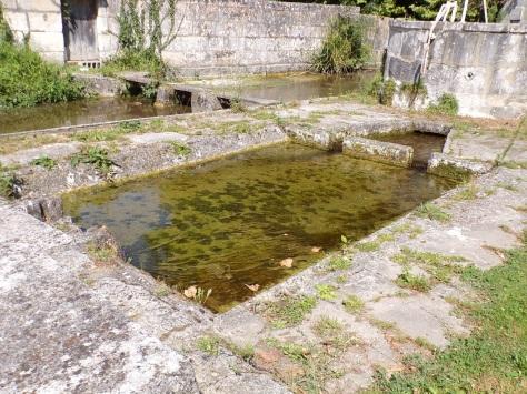 Triac-Lautrait - Le lavoir de Triac (8 septembre 2016)