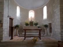 Dompierre-sur Charente - L'église Saint-Blaise - Le Choeur (21 août 2019)