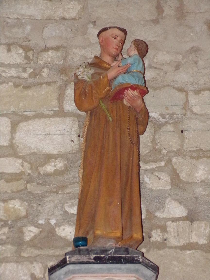 Thors - L'église Sainte-Madeleine - Saint Antoine de Padoue (19 août 2019)