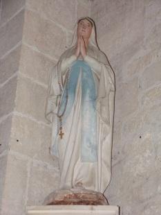 Thors - L'église Sainte-Madeleine - Vierge Marie (19 août 2019)
