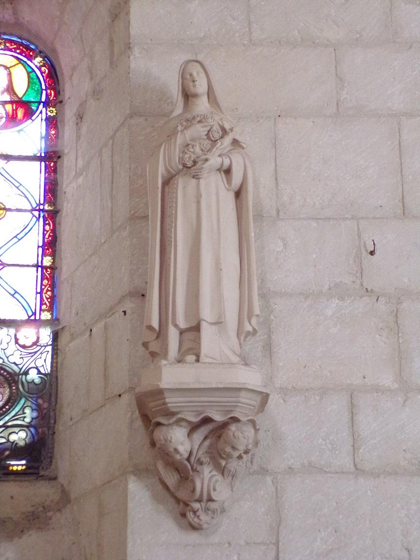 Thors - L'église Sainte-Madeleine - Sainte Thérèse de Lisieux (19 août 2019)