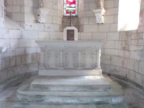Thors - L'église Sainte-Madeleine - L'abside (19 août 2019)