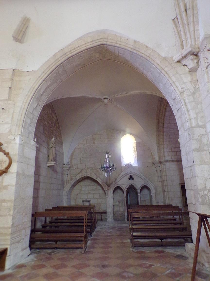 Thors - L'église Sainte-Madeleine - Une chapelle (19 août 2019)