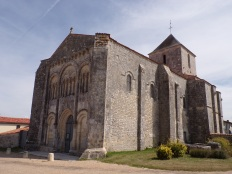 Pérignac - L'église Saint-Pierre (21 août 2019)