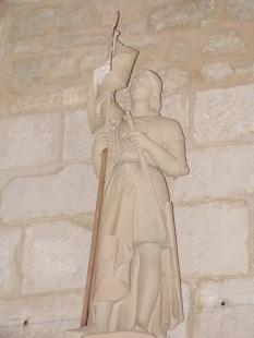 Thors - L'église Sainte-Madeleine - Sainte Jeanne d'Arc (19 août 2019)