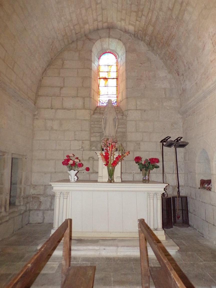 Thors - L'église Sainte-Madeleine - La chapelle 'Notre Dame de Lourdes' (19 août 2019)