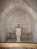 Thors - L'église Sainte-Madeleine - Fonts baptismaux (19 août 2019)