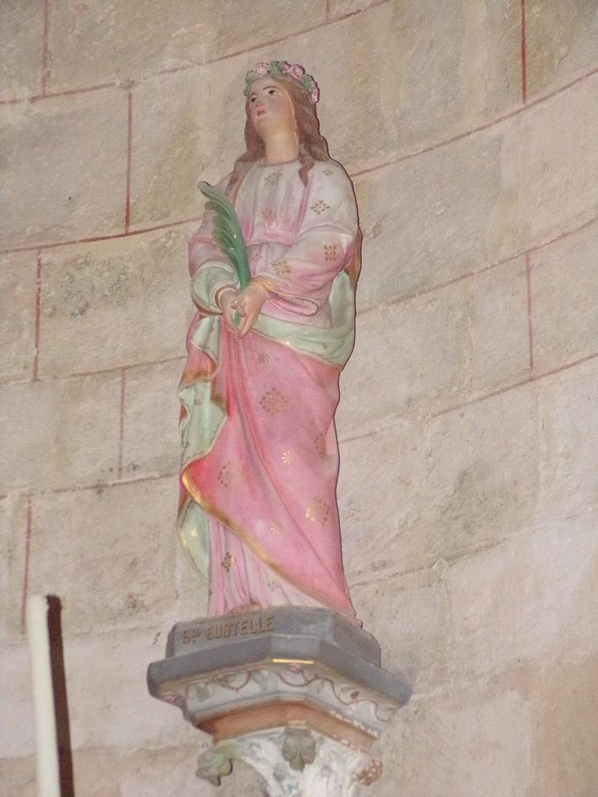 Migron - L'église Saint-Nazaire - Sainte Eustelle (29 juin 2019)