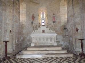 Migron - L'église Saint-Nazaire - L'abside (29 juin 2019)