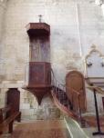 Migron - L'église Saint-Nazaire - La chaire (29 juin 2019)