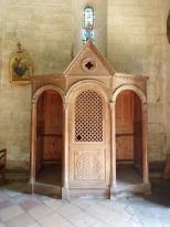 Migron - L'église Saint-Nazaire - Le confessionnal (29 juin 2019)