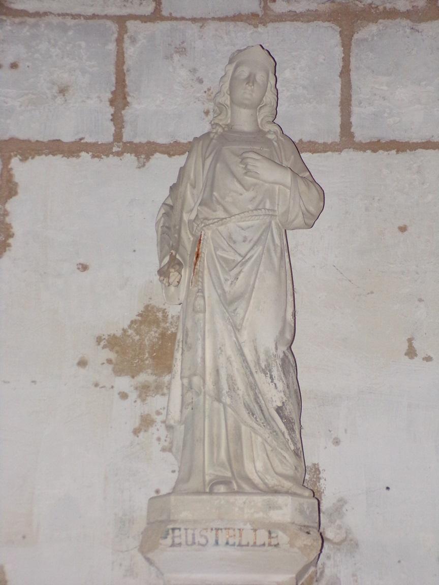 Pérignac - L'église Saint-Pierre - Sainte Eustelle (21 août 2019)