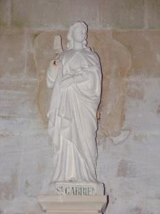 Pérignac - L'église Saint-Pierre - Saint Gabriel (21 août 2019)