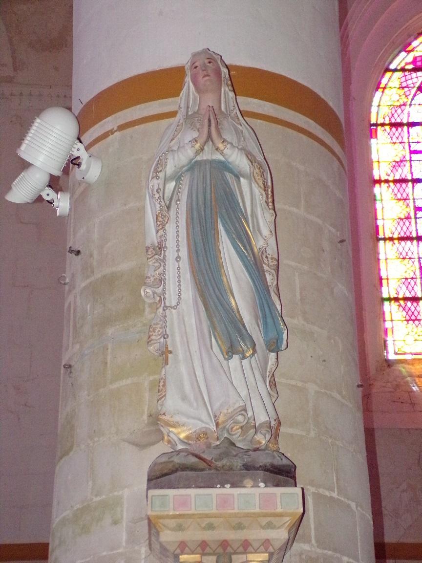Pérignac - L'église Saint-Pierre - Notre Dame de Lourdes (21 août 2019)