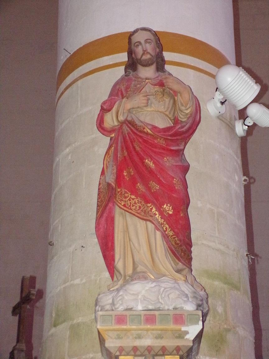 Pérignac - L'église Saint-Pierre - Sacré Coeur de Jésus (21 août 2019)