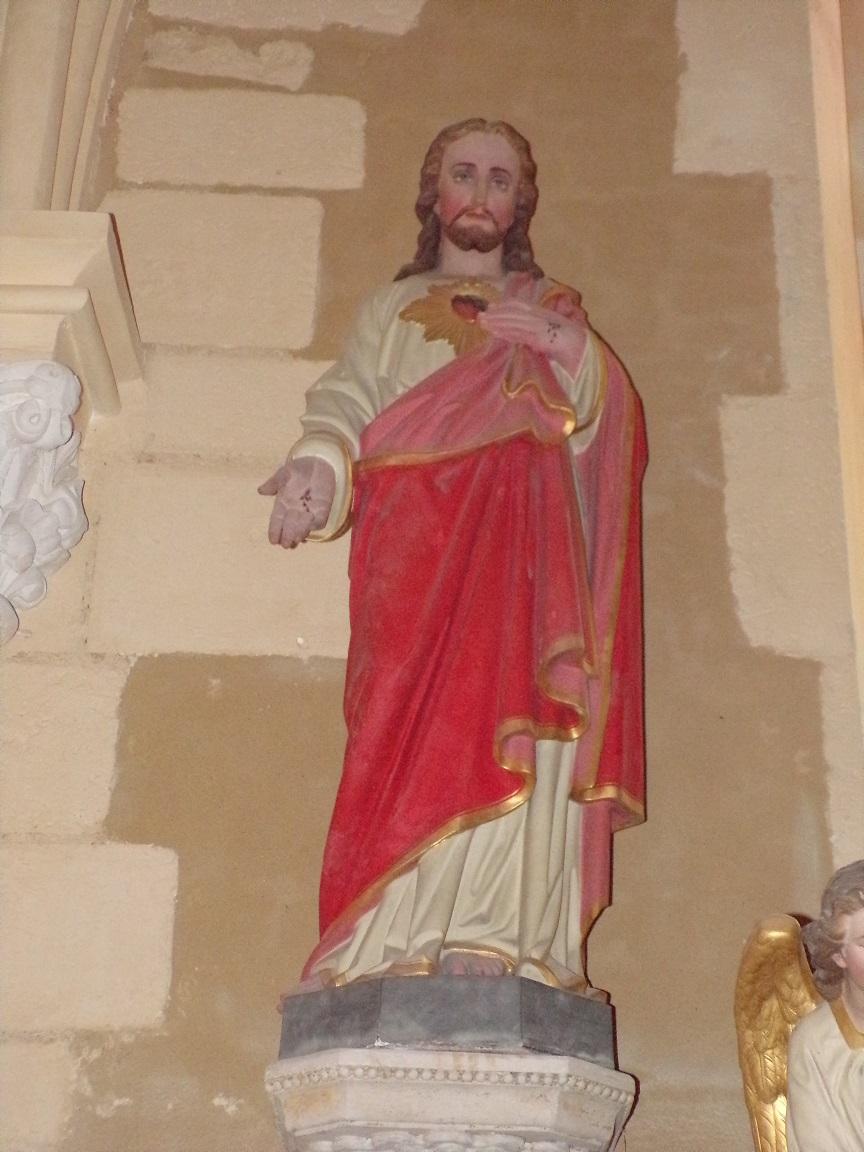 Angeac-Champagne - L'Eglise Saint-Vivien - Sacré Coeur de Jésus (13 mai 2019)