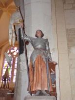 Angeac-Champagne - L'Eglise Saint-Vivien - Jeanne d'Arc (13 mai 2019)