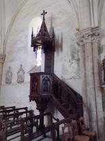 Angeac-Champagne - L'Eglise Saint-Vivien - La chaire (13 mai 2019)