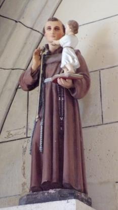 Angeac-Charente - L'église Saint-Pierre - Saint Antoine de Padoue (5 mai 2018)