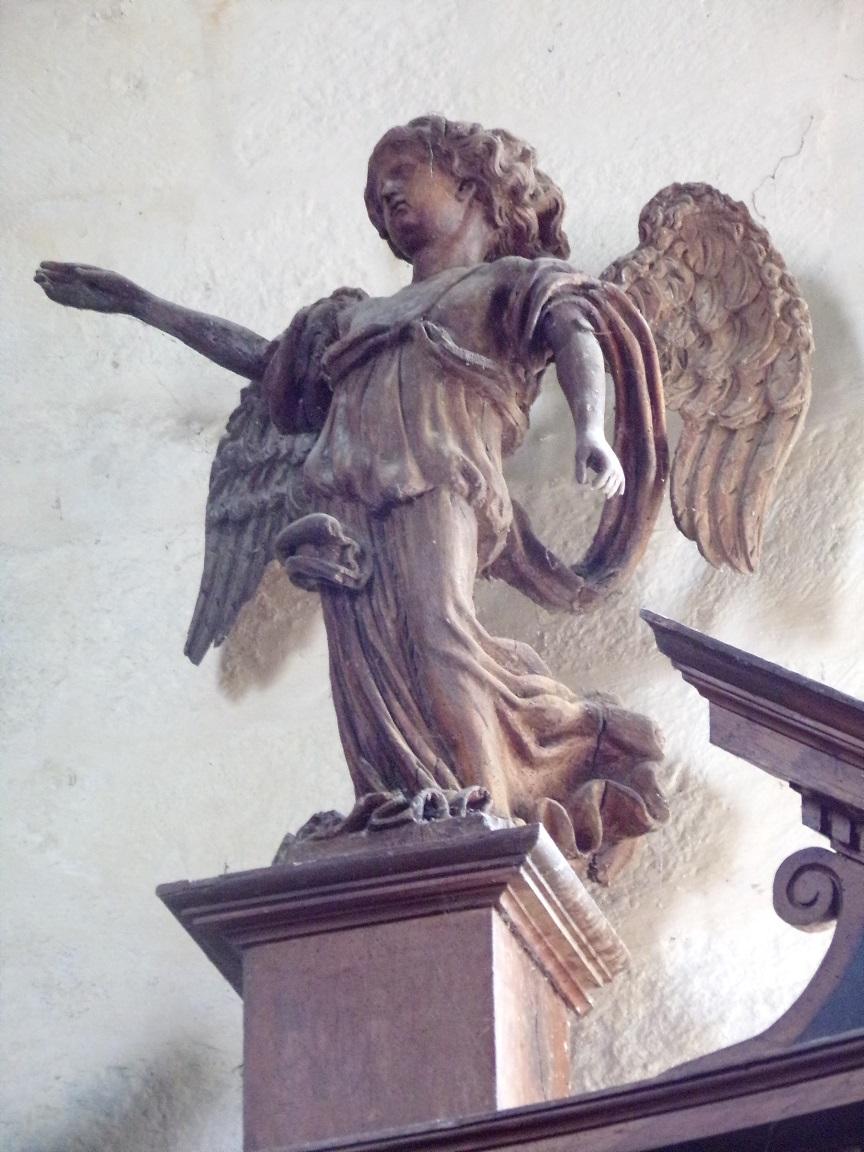 Ars – L'Eglise Saint-Maclou - Un ange (24 mai 2018)