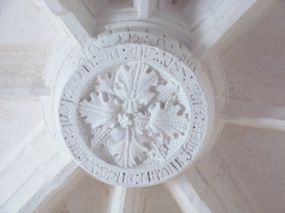 Ars – L'Eglise Saint-Maclou - Clé de voûte (24 mai 2018)