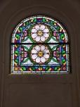 Ars – L'Eglise Saint-Maclou - Un vitrail (24 mai 2018)