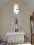 Ballans - L'église Saint-Jacques - Vierge et l'Enfant (20 août 2018)