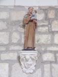 Bonneuil - L'église Saint-Pierre - Saint Antoine de Padoue (16 juillet 2020)
