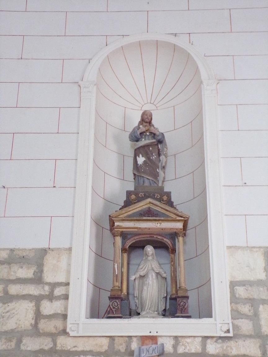 Bonneuil - L'église Saint-Pierre - Sacré Coeur de Jésus (16 juillet 2020)