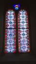 Boutiers - L'église Saint-Antoine - Un vitrail (23 avril 2018)