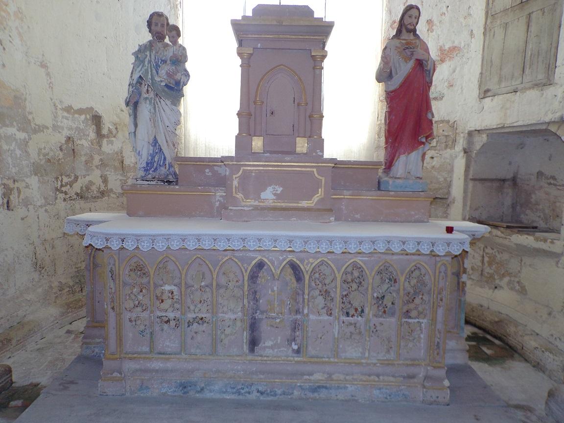 Brie sous Matha - L'église Saint-Pierre - L'abside (13 août 2018)