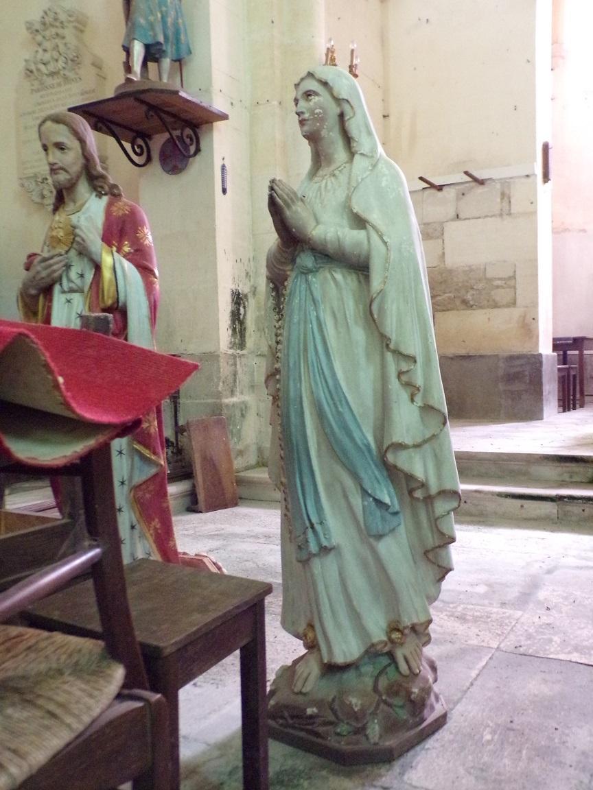 Brives sur Charente - L'église Saint-Etienne - Notre Dame de Lourdes (27 juin 2018)
