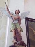 Brives sur Charente - L'église Saint-Etienne - L'Archange Saint Michel (27 juin 2018)