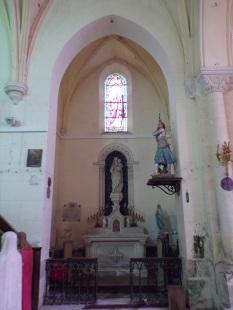 Brives sur Charente - L'église Saint-Etienne (27 juin 2018)