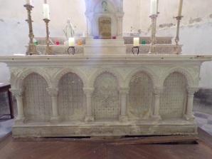 Brives sur Charente - L'église Saint-Etienne - L'abside (27 juin 2018)
