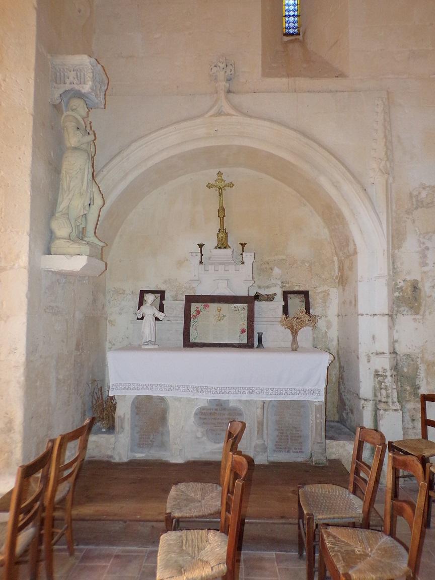 Chassors - L'église Saint-Romain (15 septembre 2018)