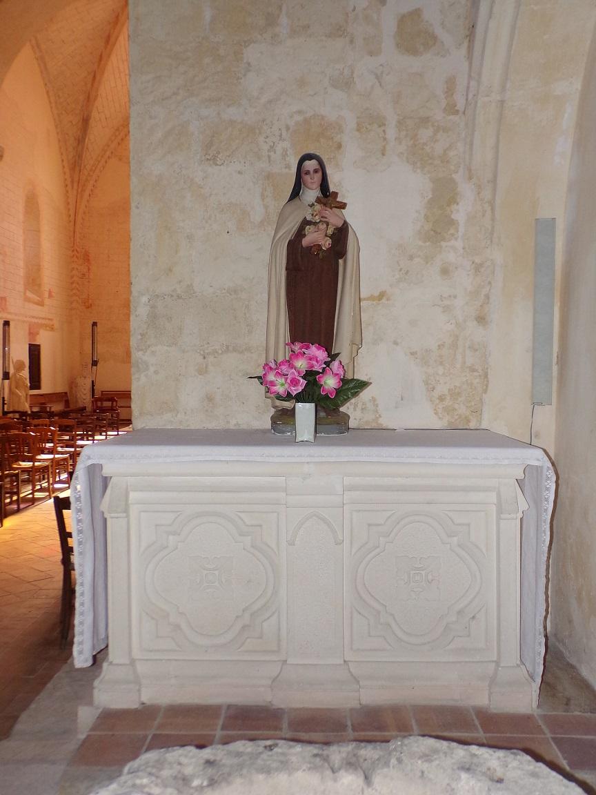Chassors - L'église Saint-Romain - Sainte Thérèse de Lisieux (15 septembre 2018)